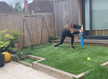 Annie cricket garden-web 2